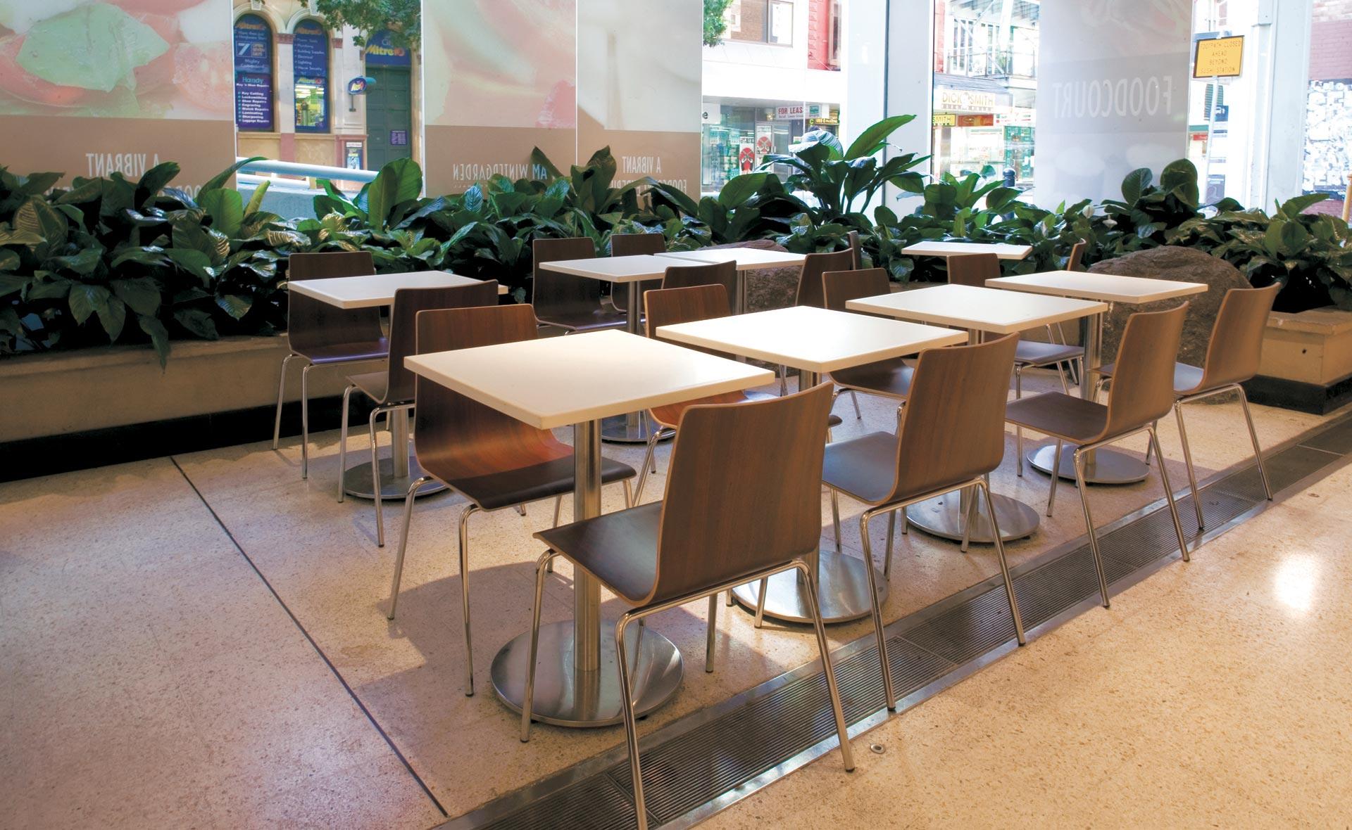 Shopping Malls & Concourse Seating | Ramler