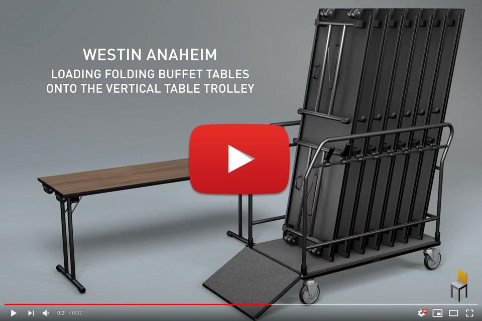 Ramler Vertical Table Trolley Video